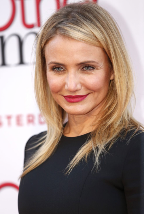 - COOL undertone, like Cameron Diaz:Again, those raspberry reds are going to look best on you. They naturally bring out the pink undertones in your skin and make your skin shine.