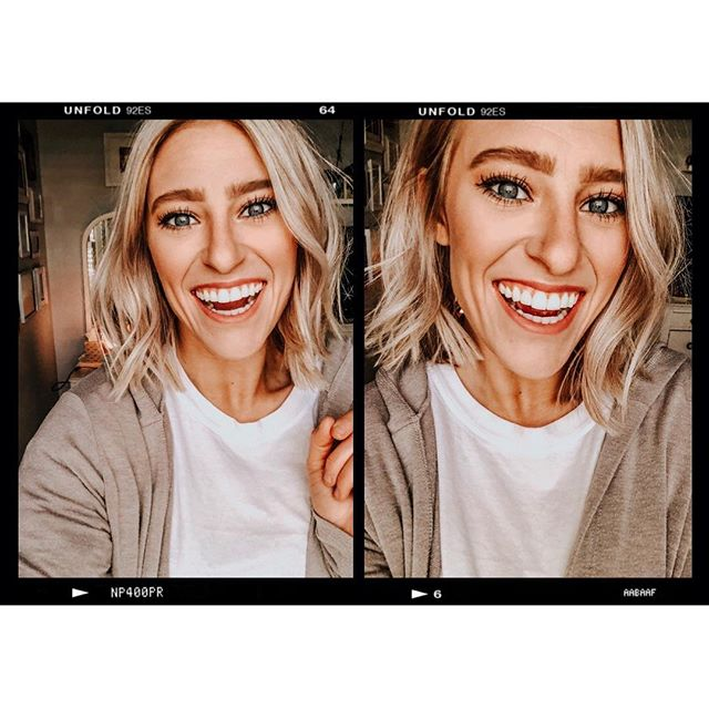 Don't mind me as I take a selfie to document the new haircut. But to be fair the smiles are REAL. 😁😁 Check out the blog to find out what hair products my blonde head can't live without. 👩🏼