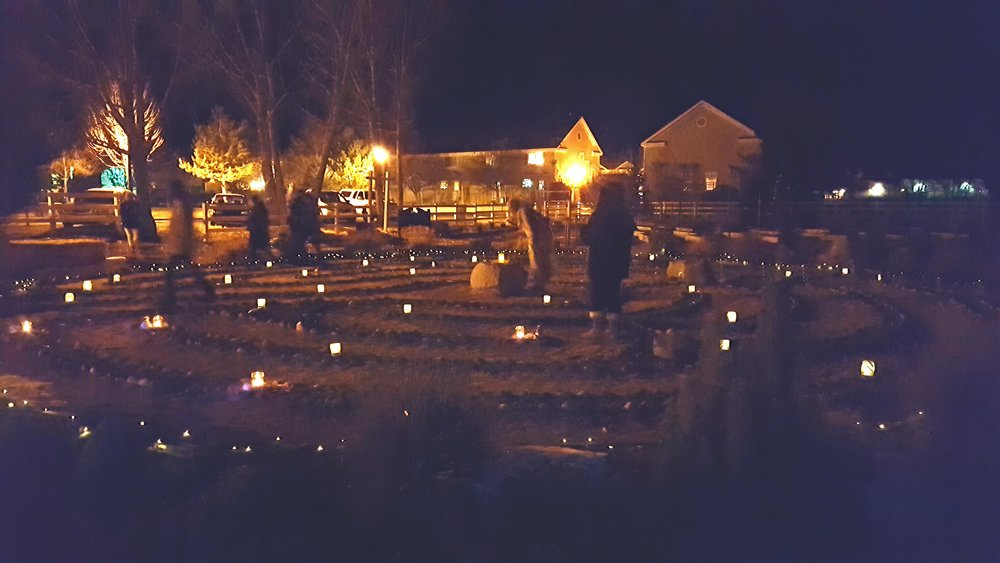 """NYE Candlelight Labyrinth Walk - (December 31st) Start a new tradition with your family and focus on creating hopeful tomorrows. Labyrinths are used throughout the world as a way to quiet the mind, recover a balance in life, to meditate, gain insight, reduce stress, to create and celebrate. Luminaries will light the way as you enjoy this newest tradition in the Carson Valley. """"Walk out the Old Year and Welcome the New Year"""" during this family friendly event on New Year's Eve."""