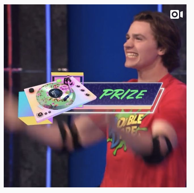 Nickelodeon Double Dare + #KCA = SO MUCH SLIME — Joel Courtney