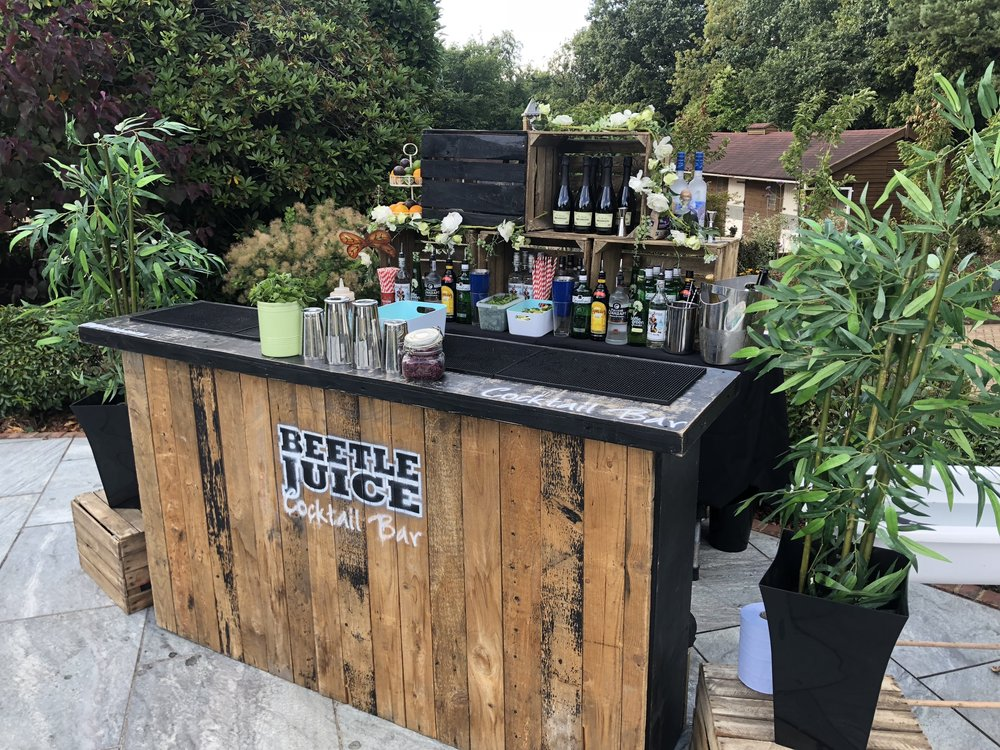 vw bar hire