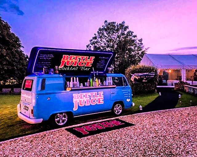 Sunsets over the best pop up bars in the country 😍 Why not make your event pop with a BeetleJuice Bar!!??!