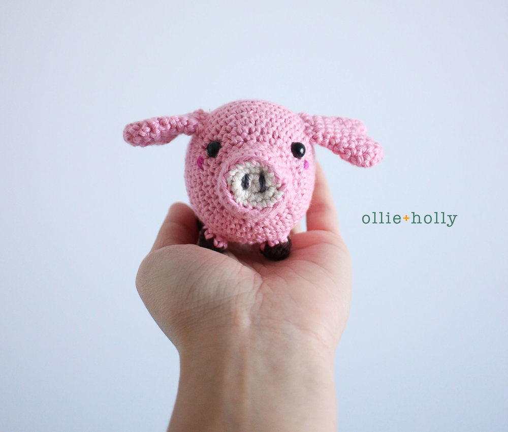 Pig Amigurumi Crochet Step Complete Blog Post
