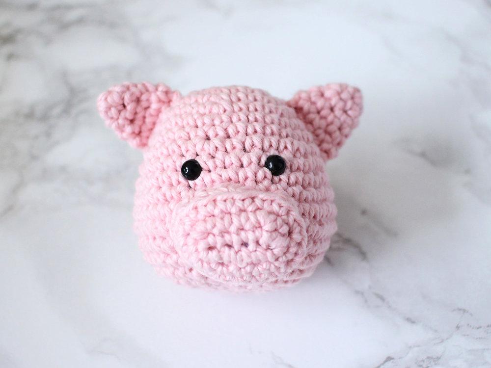 Chinese New Year Pig Amigurumi Blog Post