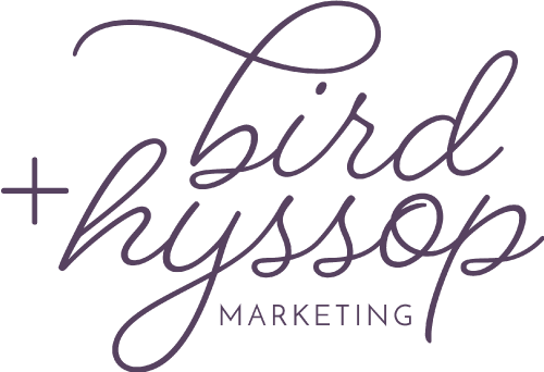 bird + hyssop marketing