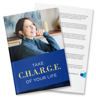 Take CHARGE of your Life Downloadable