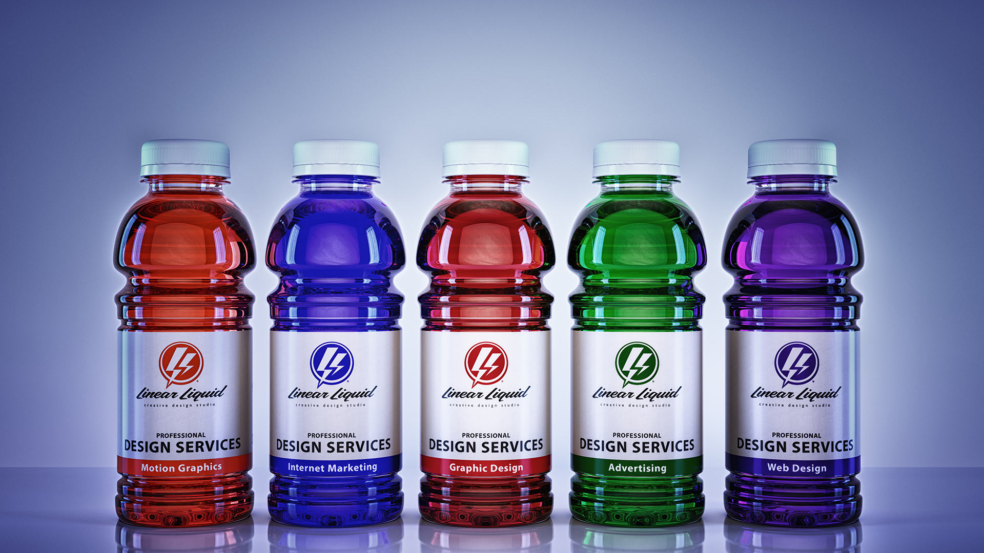 Linear Liquid Product Shot