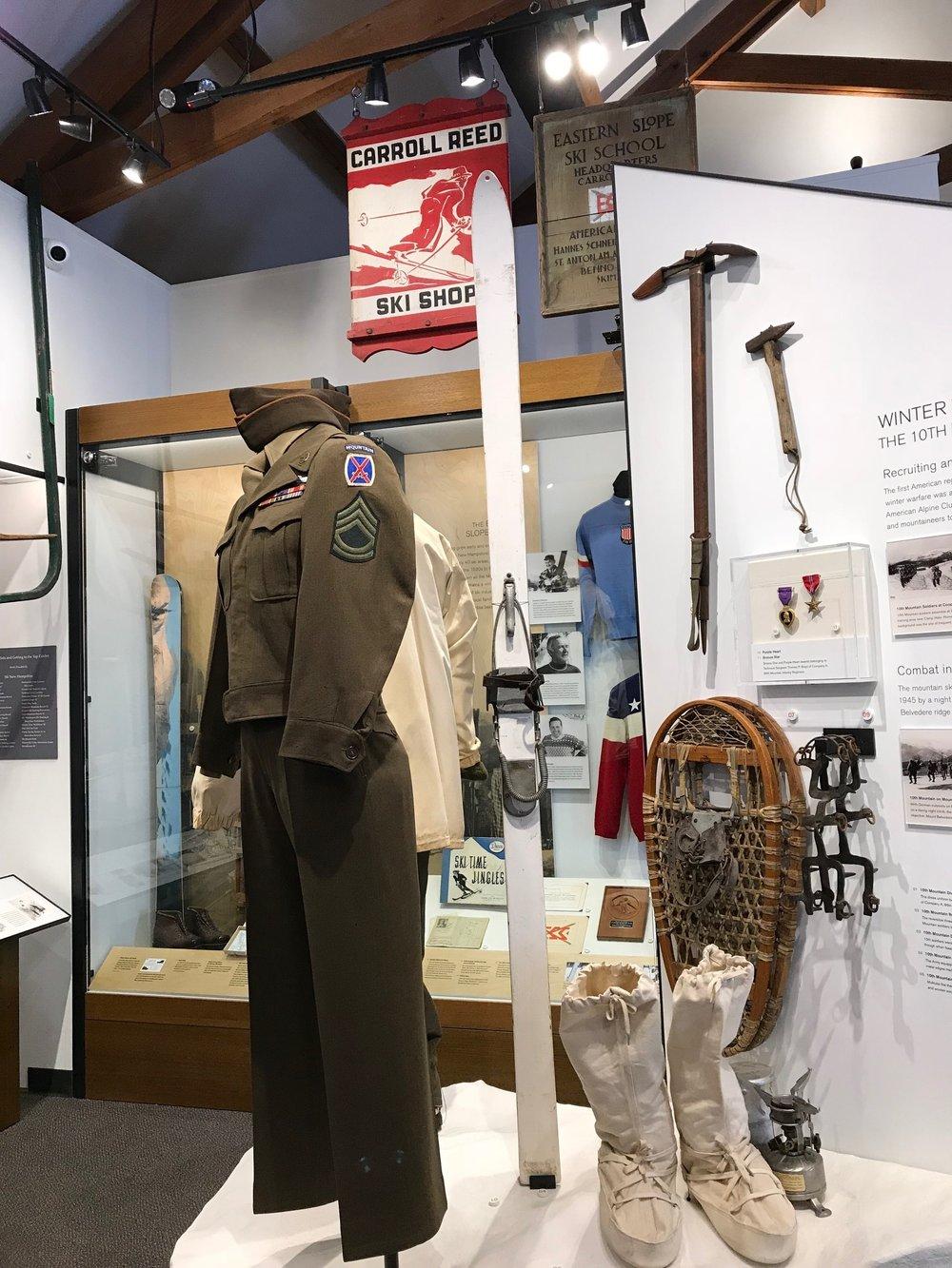 10th Mt. Division display