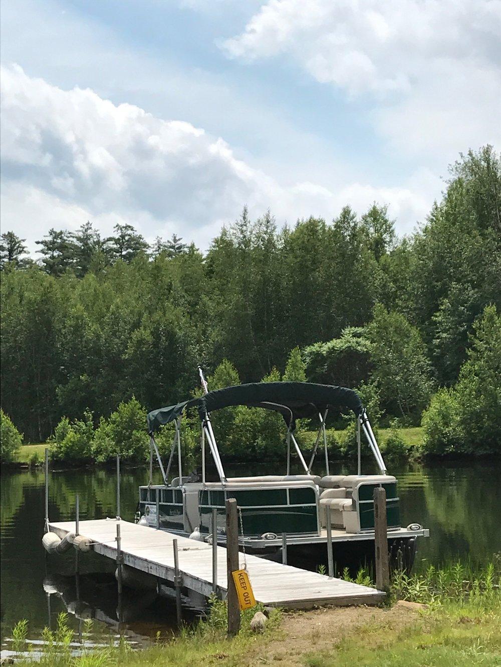 The EcoTour Pontoon Boat
