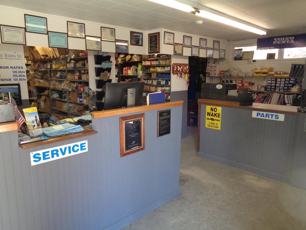 Service / Parts Dept.