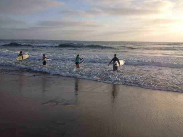 katherine going surfing.jpg