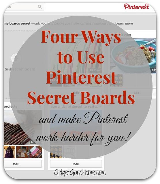 4 ways to use pinterest secret boards