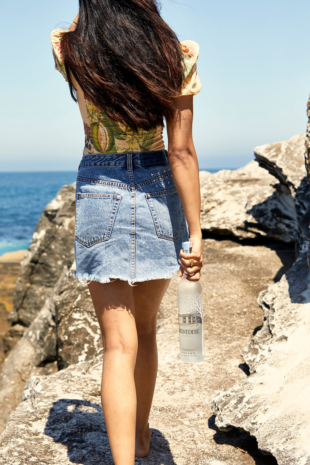 Belvedere Vodka shot by Sydney advertising food and lifestyle photographer Benito Martin