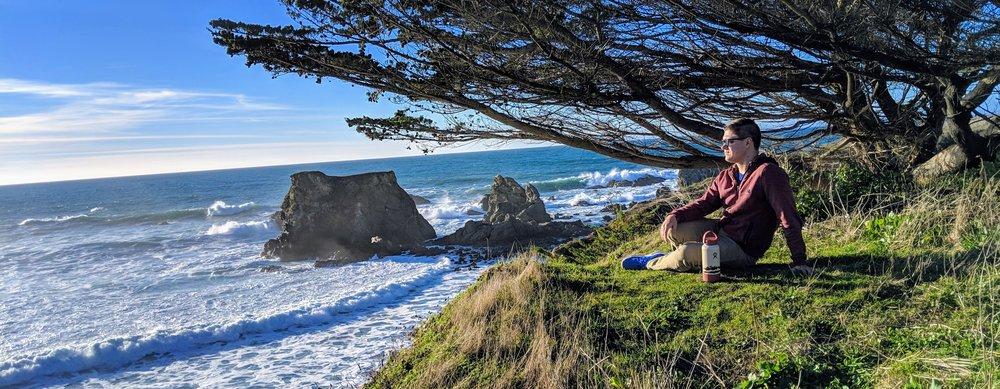 Somewhere on the coast of California