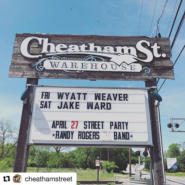 This Saturday! At @cheathamstreet  Tickets are available online or at the door. CheathamStreet.com
