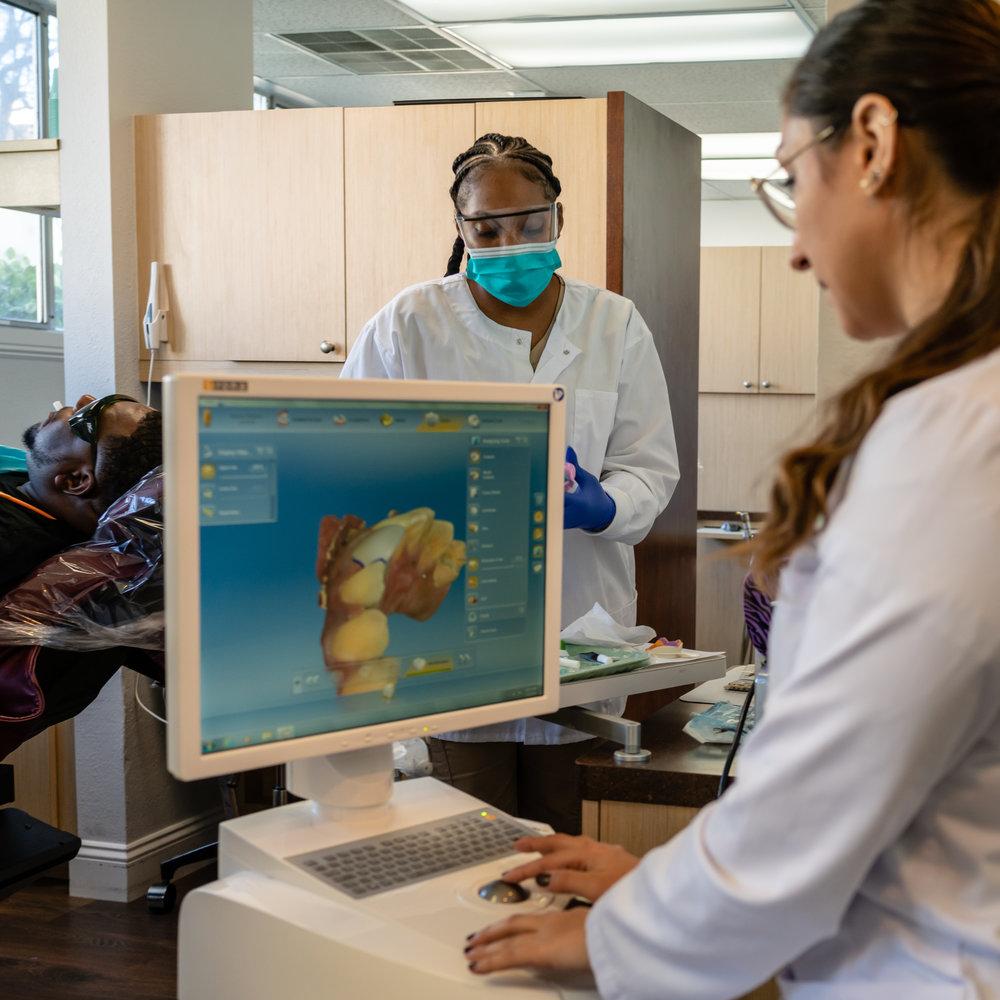 Dentist Hygienist CEREC Restorations Total Health Dental Care