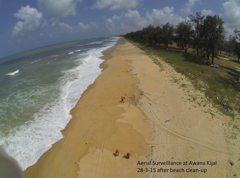 Awana Kijal Beach aerial surveillance.jpg