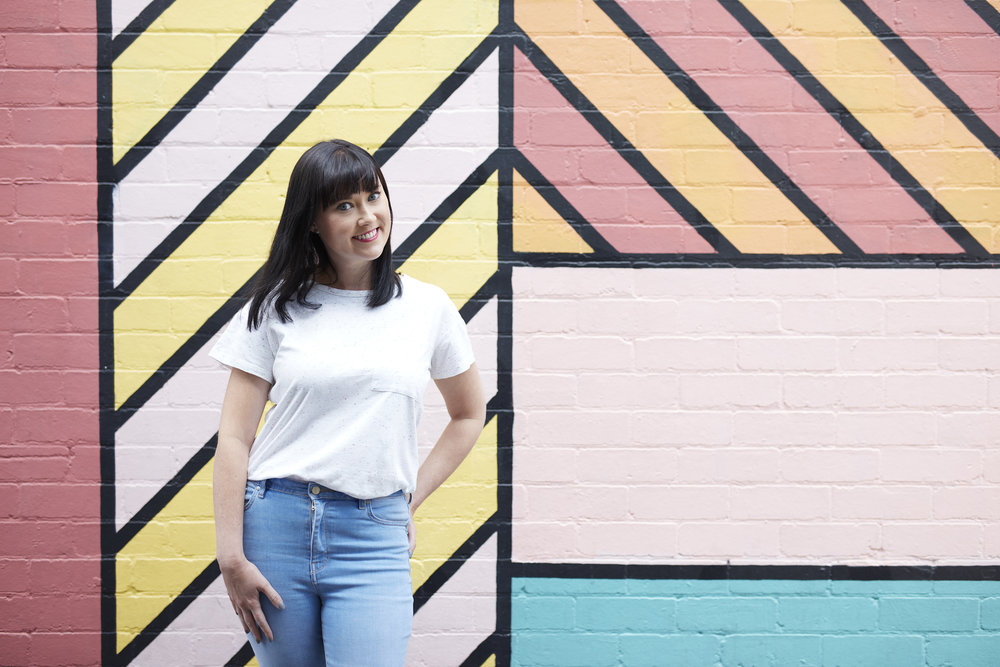 Here I am, casually standing in front of a coloured wall. (Pic cred: Jay Hynes)