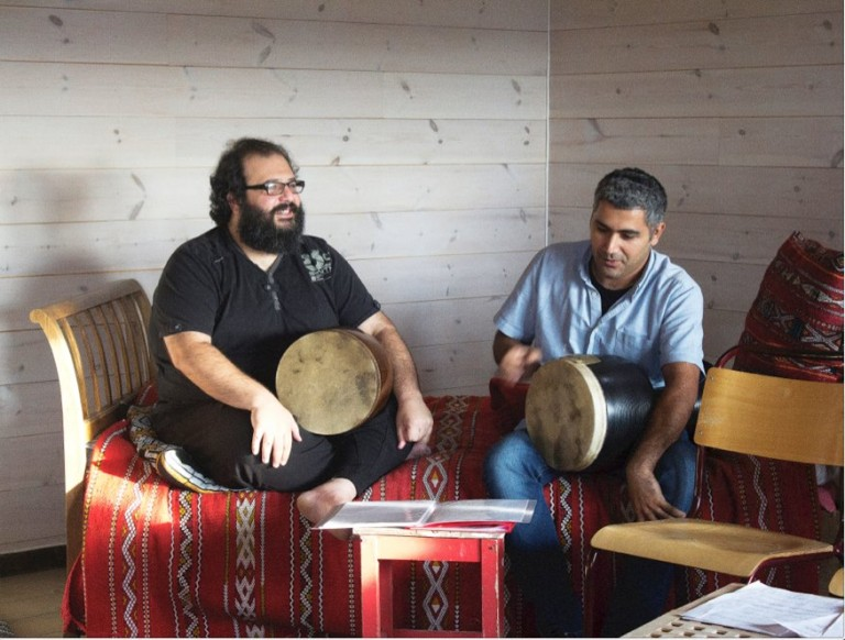 Pedram Khavarzamini, TOMBAK workshop