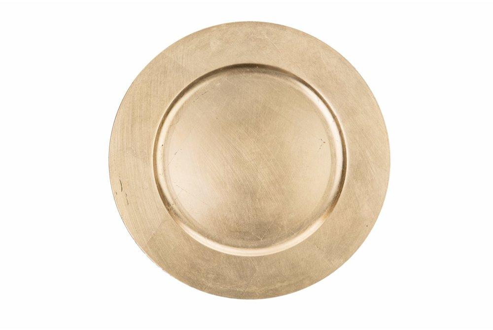 Goldener Platzteller - 1,90 €*