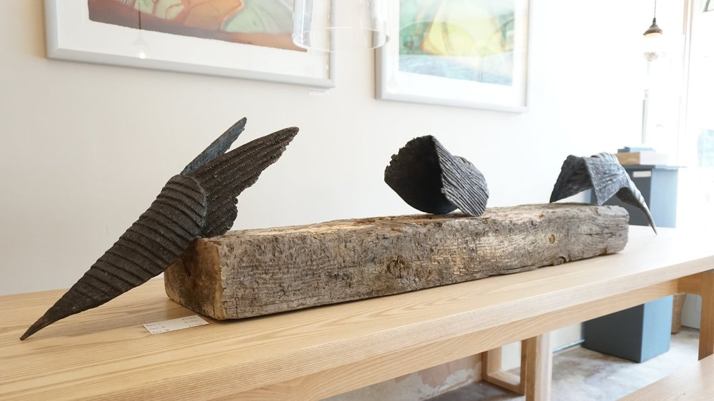 Exhibition at The Table Gallery in Hay on Wye