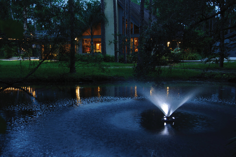 Floating Fountain with Lights