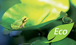 Save up to 40% on your bills with products that are energy efficient, environmentally friendly, and easy on your wallet. Look for the green leaf that represents our Eco-Leaf product lines!