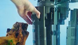 Les filtres d'aquarium internes peuvent être discrets et efficaces avec le filtre d'aiguille pour coin interne BioPlus. Avec une filtration en trois étapes, ce filtre est à la fois efficace et permet une circulation de l'eau saine grâce au diffuseur intégré.