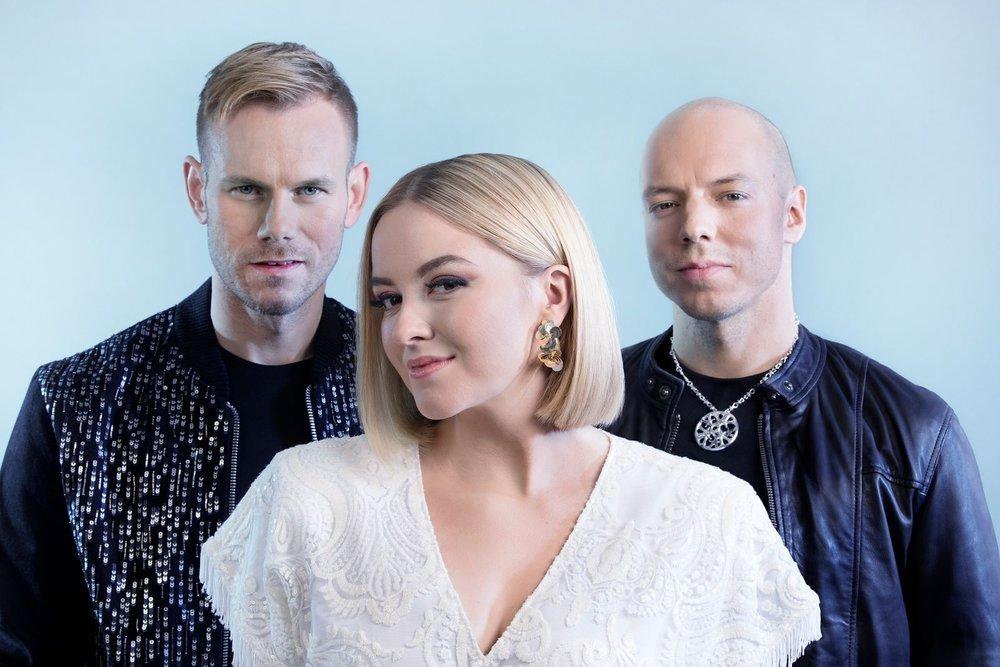 KEiiNO (Tom Hugo, Alexandra Rotan og Fred Buljo) (Foto: NRK)
