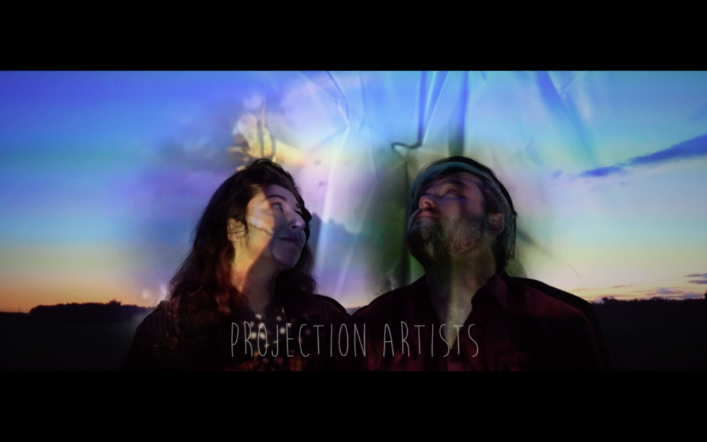 'Projection Artists' by Robert Gowan and Kira Bursky. December 2017. - co-Director & co-Cinematographer.