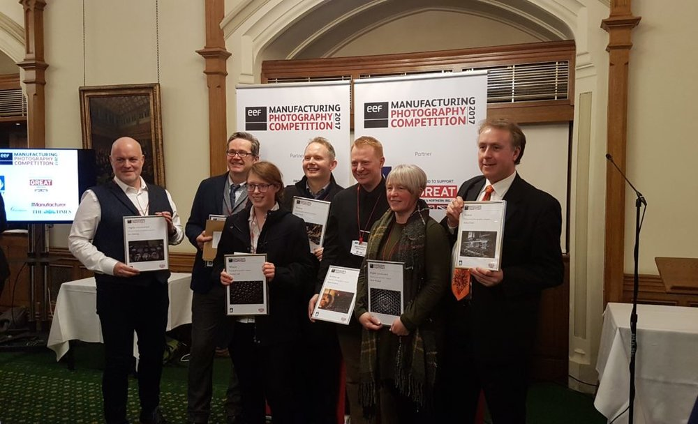 The proud winners of the competition at the Celebration Event in the House of Commons
