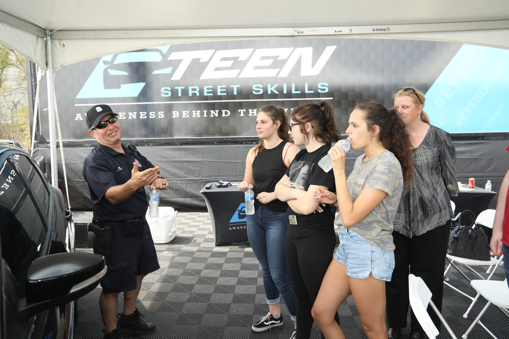 brand recognition - Program sponsors will benefit from the presence of their business's banner signage throughout the Teen Street Skills course, including the instruction tent, as well as throughout the promotional materials that are developed to recruit teens into the program. Program sponsors are offered to opportunity provide giveaway bags to all participants and parents, as well as activation programs (i.e. redeem a coupon at the store or online).Activity sponsors will benefit from brand exposure with on track and inside instruction tent signage recognition. Recognition for Activity Sponsors will also be promoted throughout participant promotional collateral.