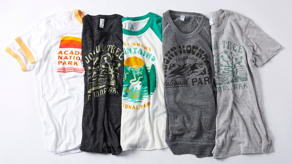 Alternative Apparel x National Parks Foundation Collection