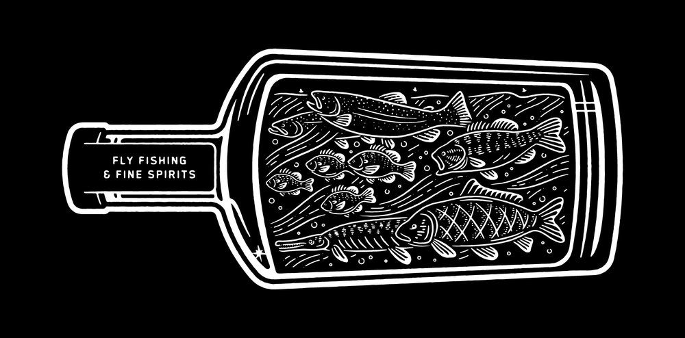 Whiskey River Chronicle Bottle Design
