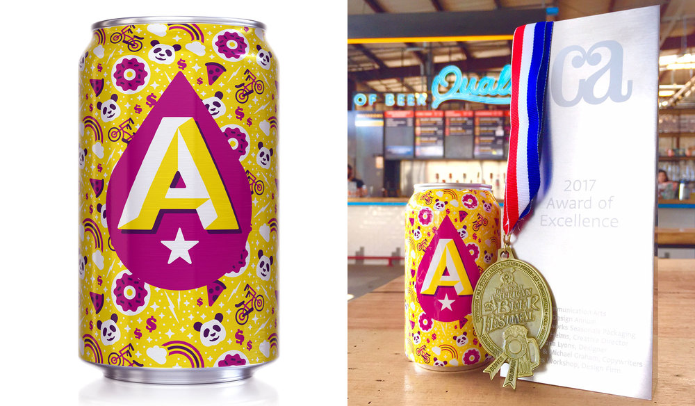 Austin Beerworks Seasonal Cans: Super Awesome