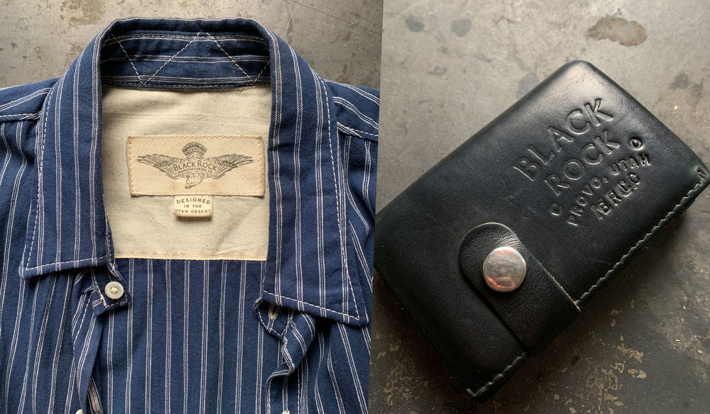 Black Rock Manufacturing Co. Shirt and Wallet