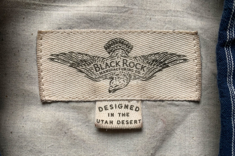 Black Rock Manufacturing Co. Cloth Tags