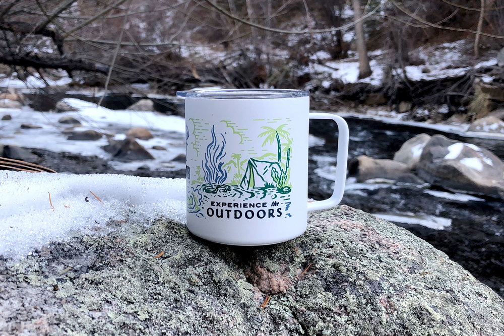 JOOB Active Wear MIIR Camp Cup in the wild