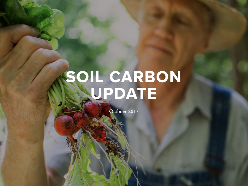 October 2017 Update - This update includes features on reports, studies, news coverage, emerging work, policies, fellowships, and farmer training programs