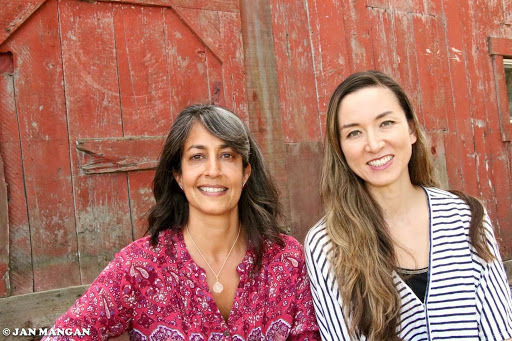 Left to right: Puja Batra of Batra Ecological Strategies and Elly Brown, ED of San Diego Food Systems Alliance