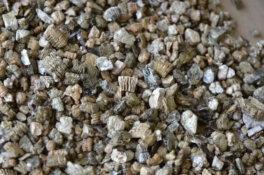 Vermiculite close up.