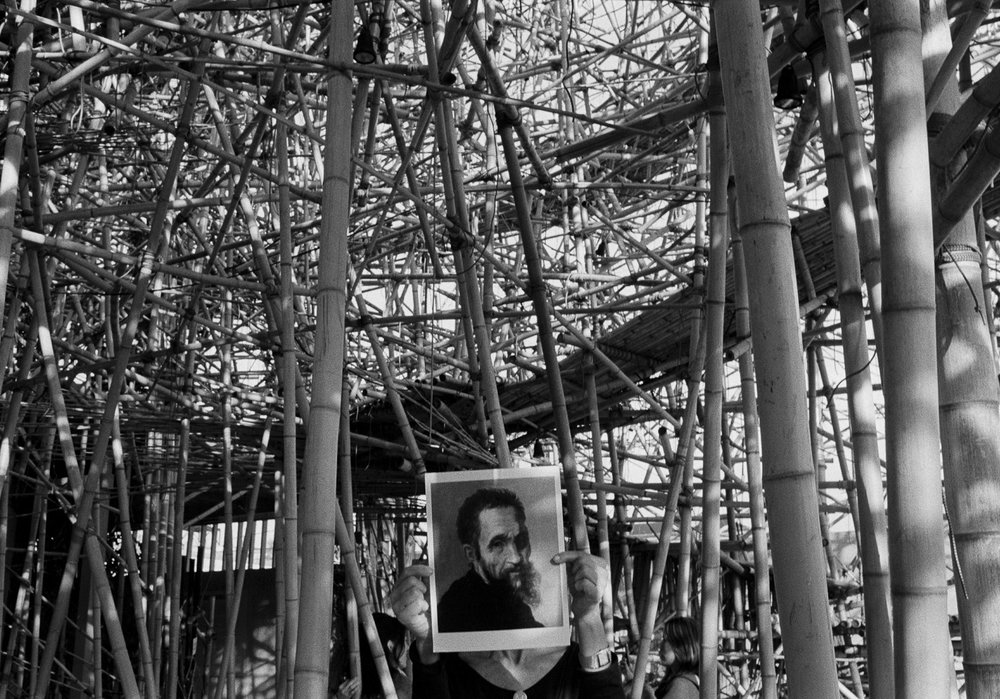 Michelangelo at Big Bambu, Met Museum