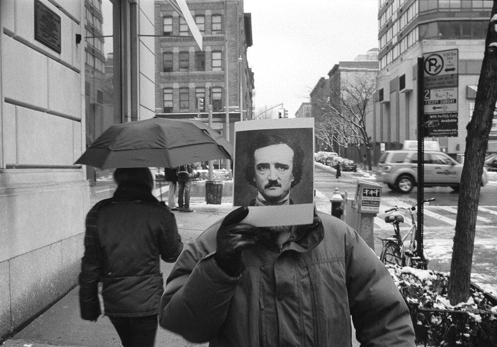 Edgar Allen Poe on Edgar Allen Poe St NYC