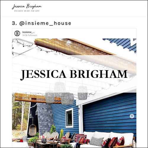 Insiem House - Press - Jessica Brigham