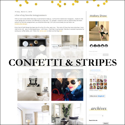 Insiem House - Press - Confetti & Stripes