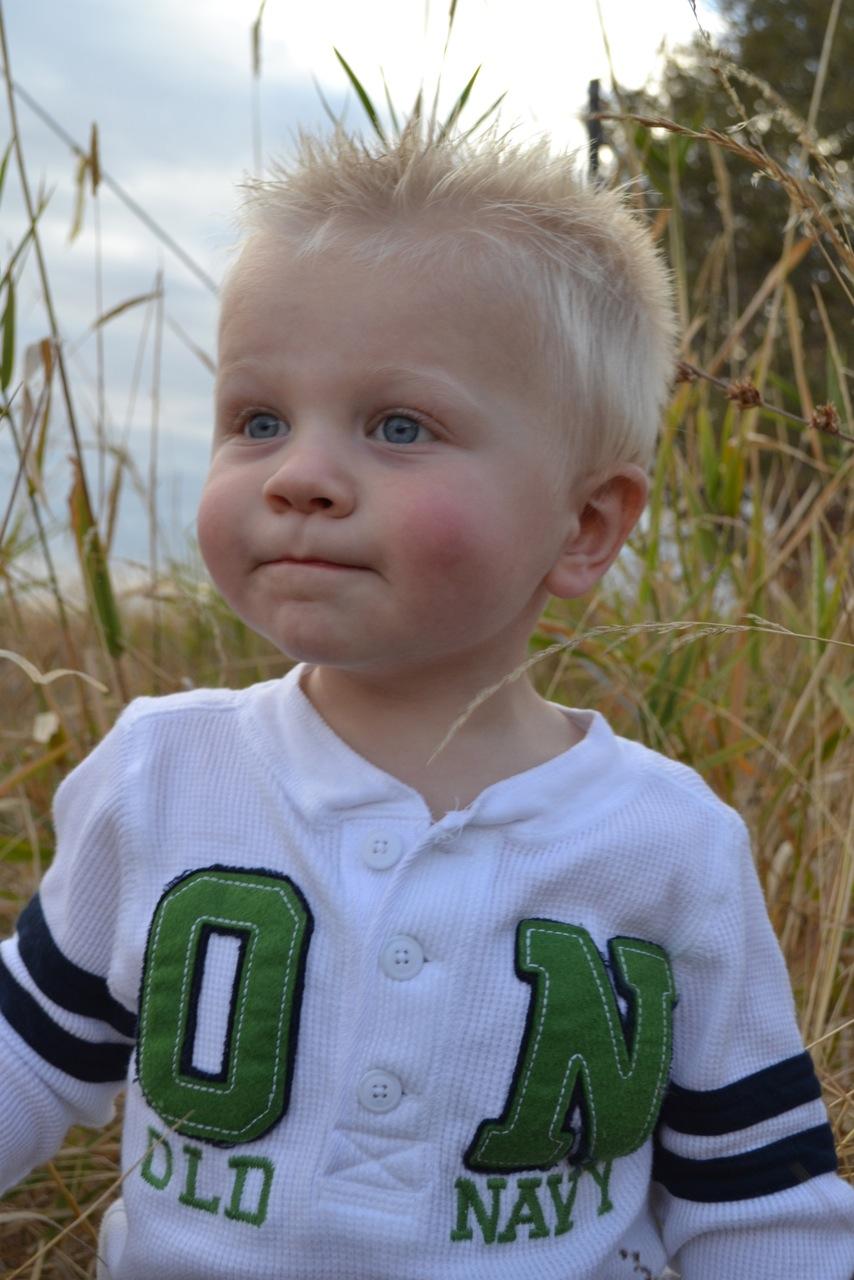Blake. Ashley Brown's son.