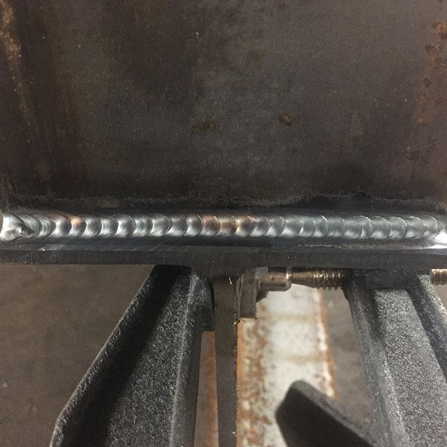 Some welds from today, nothing special.  Keeping busy, keeping happy, watching that arc. #elite #welding #regularwelds #weldernation #weldarmy #weldlife