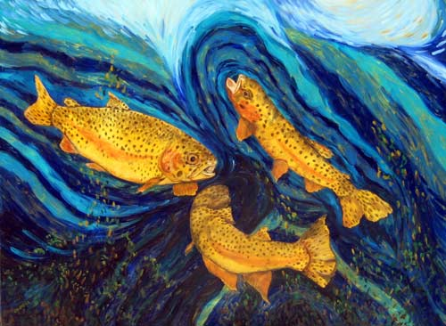 A Trout's Rainbow - 2010