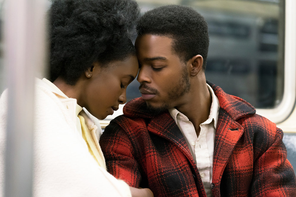 KiKi Layne and Stephan James as Fonny in Barry Jenkins' 'If Beale Street Could Talk.'  Tatum Mangus/Annapurna Picture