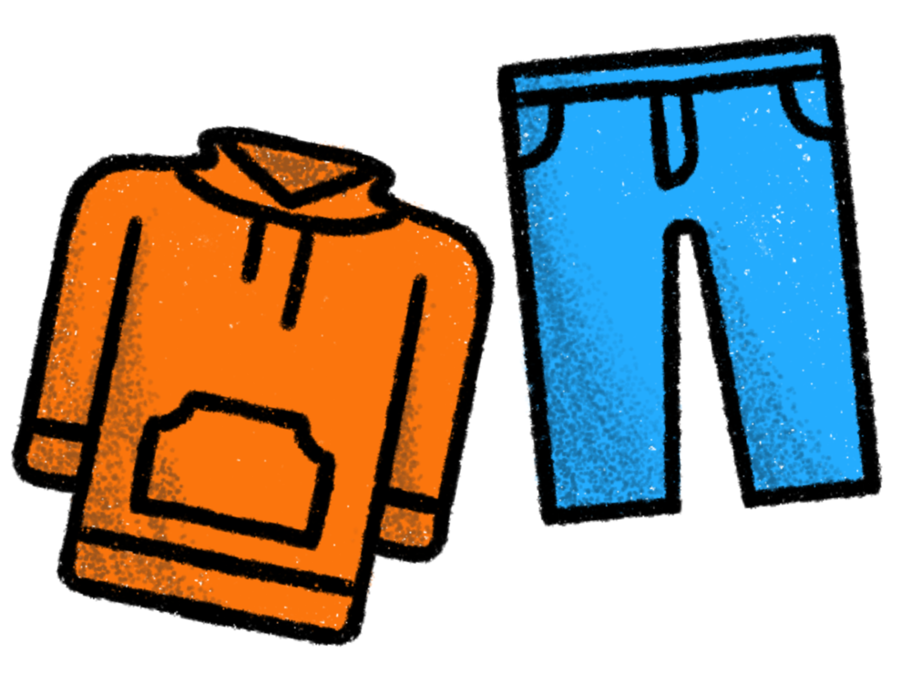 """""""Hoodie and Jeans"""" (above) Daphnelly Delacruz 
